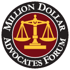 logo of Million Dollar Advocates Forum Durham Attorneys